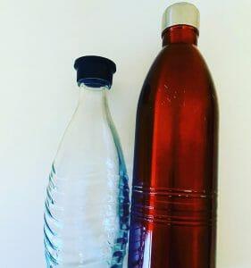 Edelstahl-/Glasflaschen