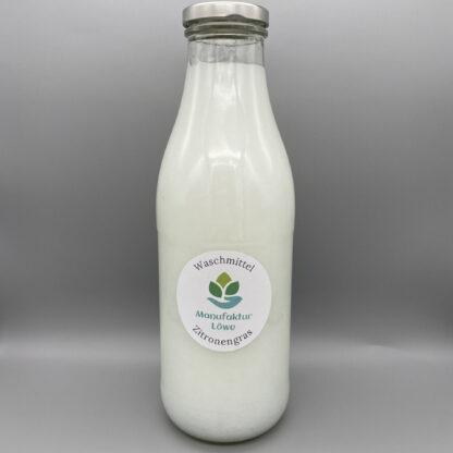 Waschmittel nachhaltig 1 l Zitronengras Vorderseite