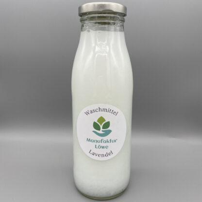 Waschmittel nachhaltig 500 ml Lavendel Vorderseite