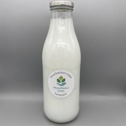 Waschmittel vegan 1 l Lavendel Vorderseite