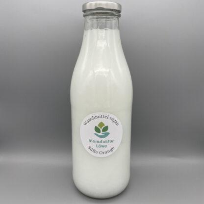 Waschmittel vegan 1 l Orange Vorderseite