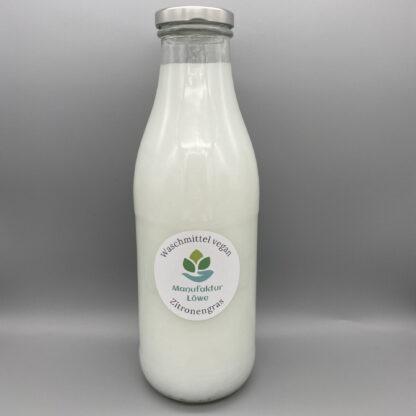 Waschmittel vegan 1 l Zitronengras Vorderseite