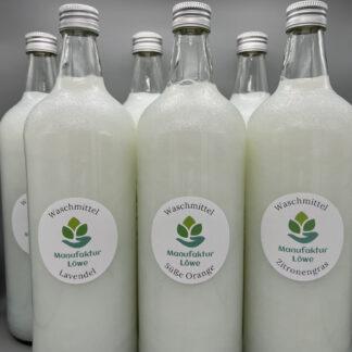 Waschmittel nachhaltig 6x 1 Liter