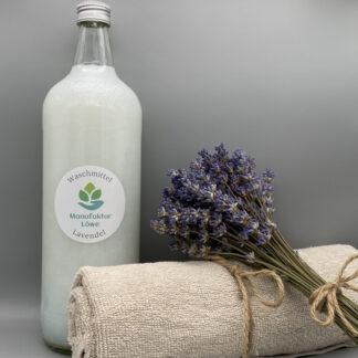Waschmittel nachhaltig 1 Liter Lavendel Vorderseite