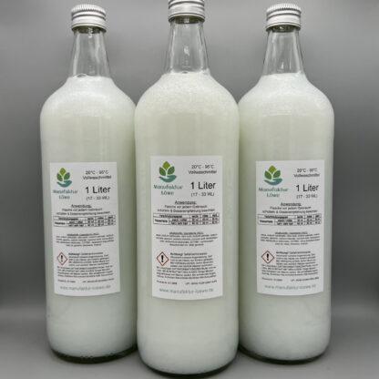 Waschmittel vegan Übersicht Rückseite