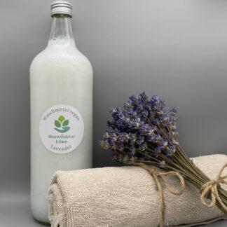Waschmittel vegan 1 Liter Lavendel Vorderseite